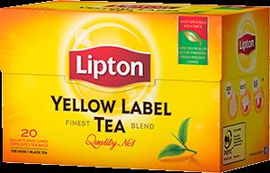 Lipton Schwarztee Yellow Label 20